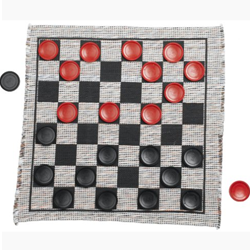 Kids' Jumbo Checkers Set