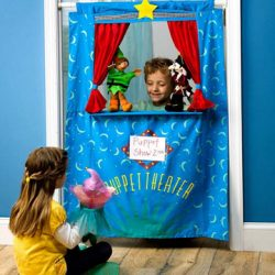 Kids' Puppet Theater Kit