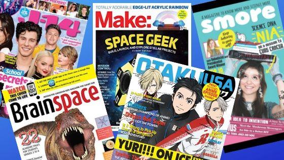 teen magazine covers