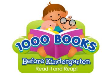 1000 books before kindergarten logo