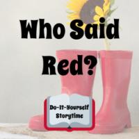 DIY Who Said Red