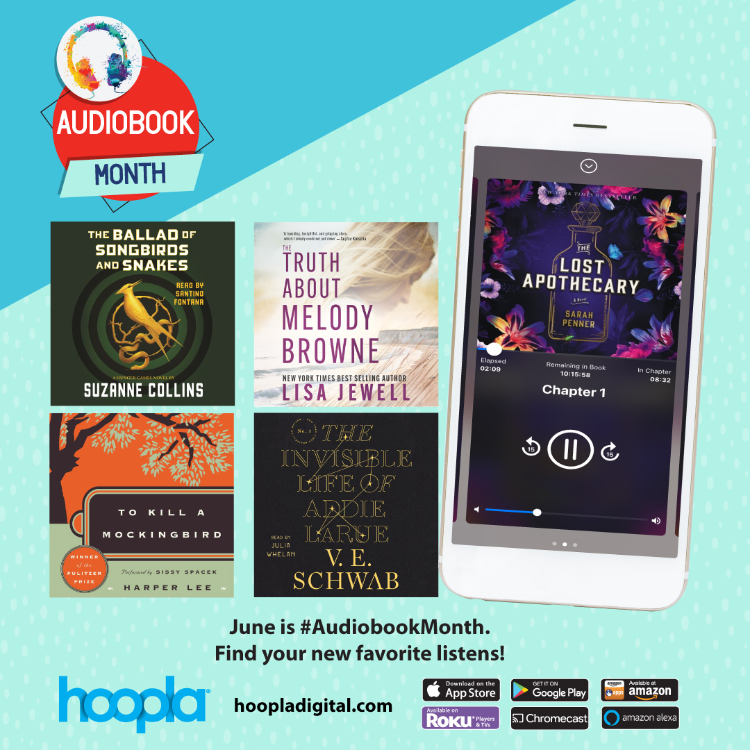 image of streaming audiobook option