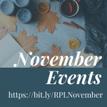 November Programs and Events